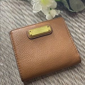 Marc Jacobs Brown Leather Wallet